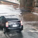 車が浸水した!壊れるのかな?⇒壊れて発火します